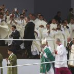 The Latest: Pope departs Peru, concluding South America trip