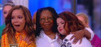 Whoopi's message about health insurance