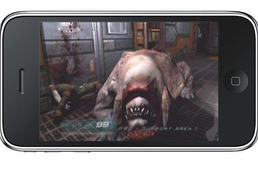 iPhone plays Doom, but what about Doom 3?