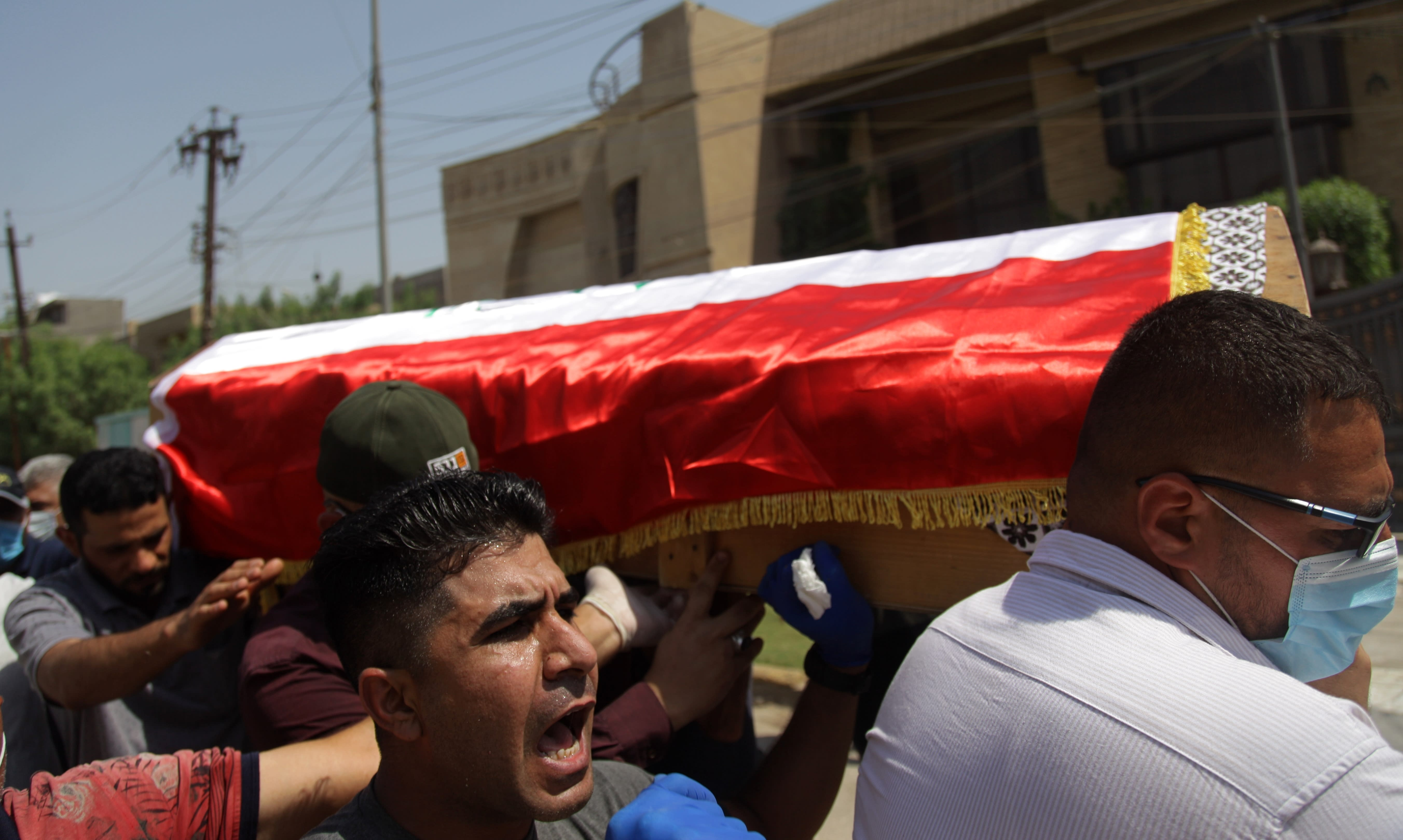 Iraq Analyst Killed