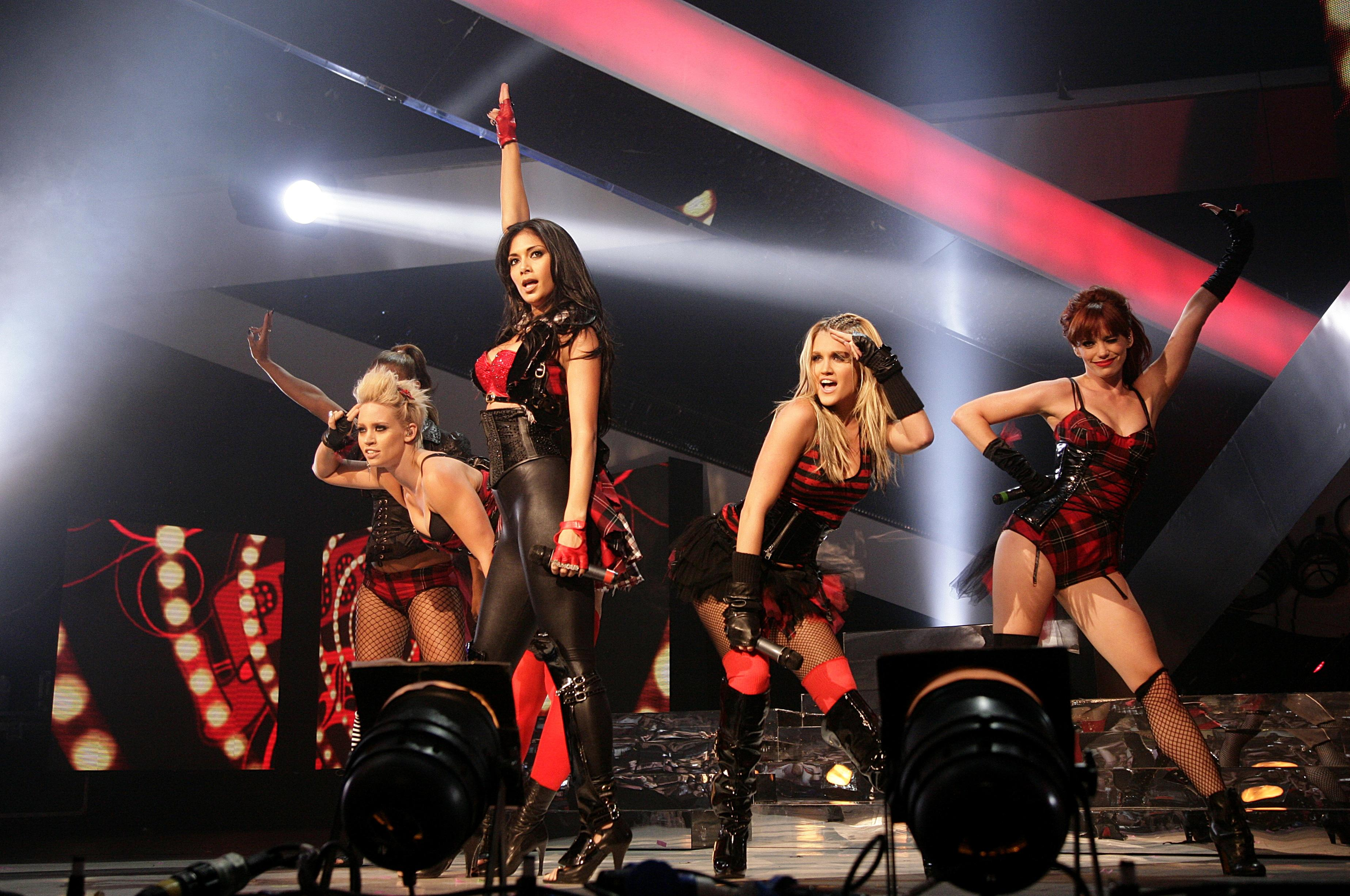 Pussycat Dolls hit with complaints over racy 'Saturday Night Takeaway' performance