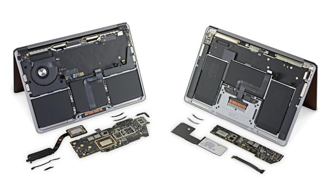 iFixit - M1 MacBook Air and MacBook Pro