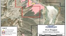 American Lithium Confirms Historic Claystone Grades at North End of Nevada FLV Project