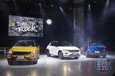 【新車發表】搖滾跑旅 Volkswagen T-Roc多增入門車型登台