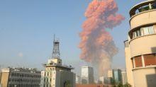 Duas fortes explosões fazem dezenas de feridos em Beirute