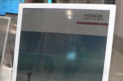 Hitachi showing off color version of Albirey e-paper