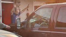 U.S. Marshals arrest Royce Wood, suspected of shooting a Texas cop, in Arkansas