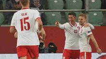 Lewandowski faz dois, dá passe para um, e comanda vitória da Polônia sobre a Bósnia na Liga das Nações