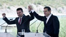 """Signature de l'accord historique pour l'appellation de """"Macédoine du Nord"""""""