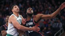 Celtics' Enes Kanter perfectly reacts to Knicks' NBA Draft Lottery misfortune