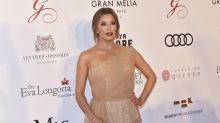 Eva Longoria, transparencias 'nude' en Marbella