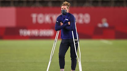 Naeher will miss USWNT's bronze medal match