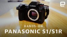 Panasonic S1 and S1R full-frame mirrorless cameras hands-on