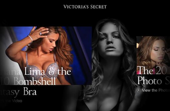 And you thought the iPad was sexy: Victoria's Secret comes to your touchscreen