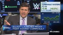 Elliott launches proxy fight against Commvault