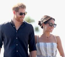 Duchess of Sussex rejoins Duke for walkabout after rest from Australian tour as pregnancy 'takes its toll'