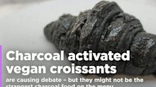 Charcoal activated vegan croissants are the new hipster food trend confusing Twitter