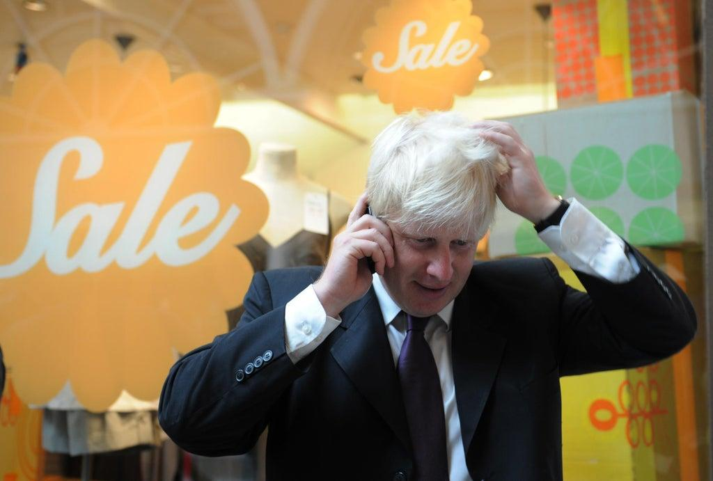 Boris Johnson's mobile phone number 'freely available online for 15 years'