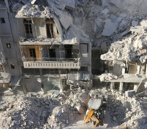 France at UN says war crimes committed in Syria's Aleppo