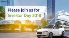 BorgWarner to Host Investor Day on September 18, 2018