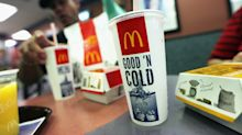 Today's charts: McDonald's shares gain; Chipotle, AT&T earnings up next