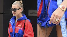 Did Hailey Baldwin Just Replace Her Engagement Ring with a Wedding Band?