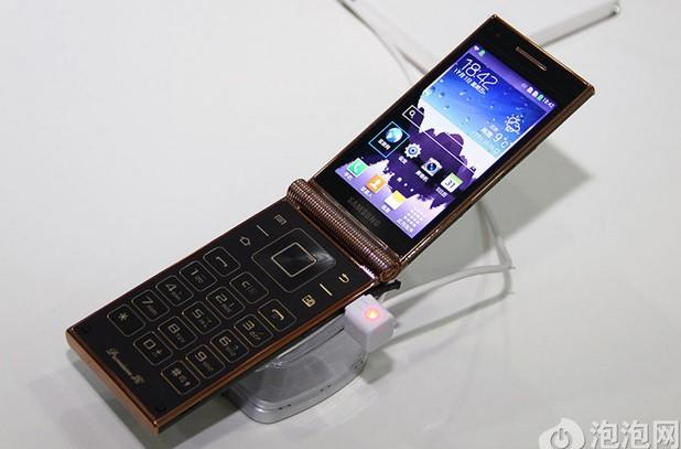 Samsung W2014 is world's first Snapdragon 800 flip phone, costs over $1,640