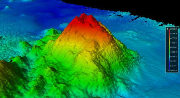 Massive Extinct Volcano Discovered Beneath Pacific Ocean