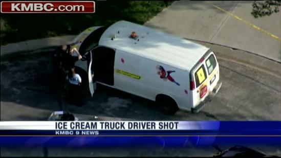 Residents rattled by ice cream truck driver's shooting