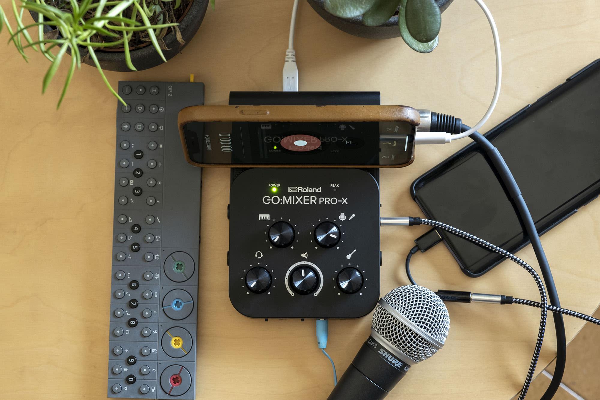 Roland Go:Mixer Pro X hands-on.