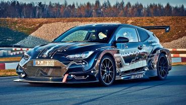 2020北京車展報導:不只賽車,更是性能電動車平台,現代打造799匹馬力的RM20e電動賽車