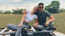 Cauã Reymond e Mariana Goldfarb curtem viagem ao Pantanal