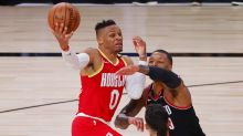 At bubble's halfway point, Rockets progressing but have work to do