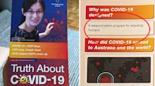 Concerning coronavirus pamphlet found in Sydney letterboxes
