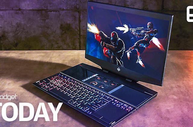 HP's Omen X 2S is a dual-screen gaming laptop