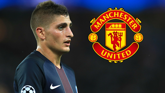 Manchester United's deal for Marco Verratti stalls as PSG want forward in exchange