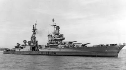 U.S. warship Indianapolis found 18,000 feet deep in Pacific Ocean