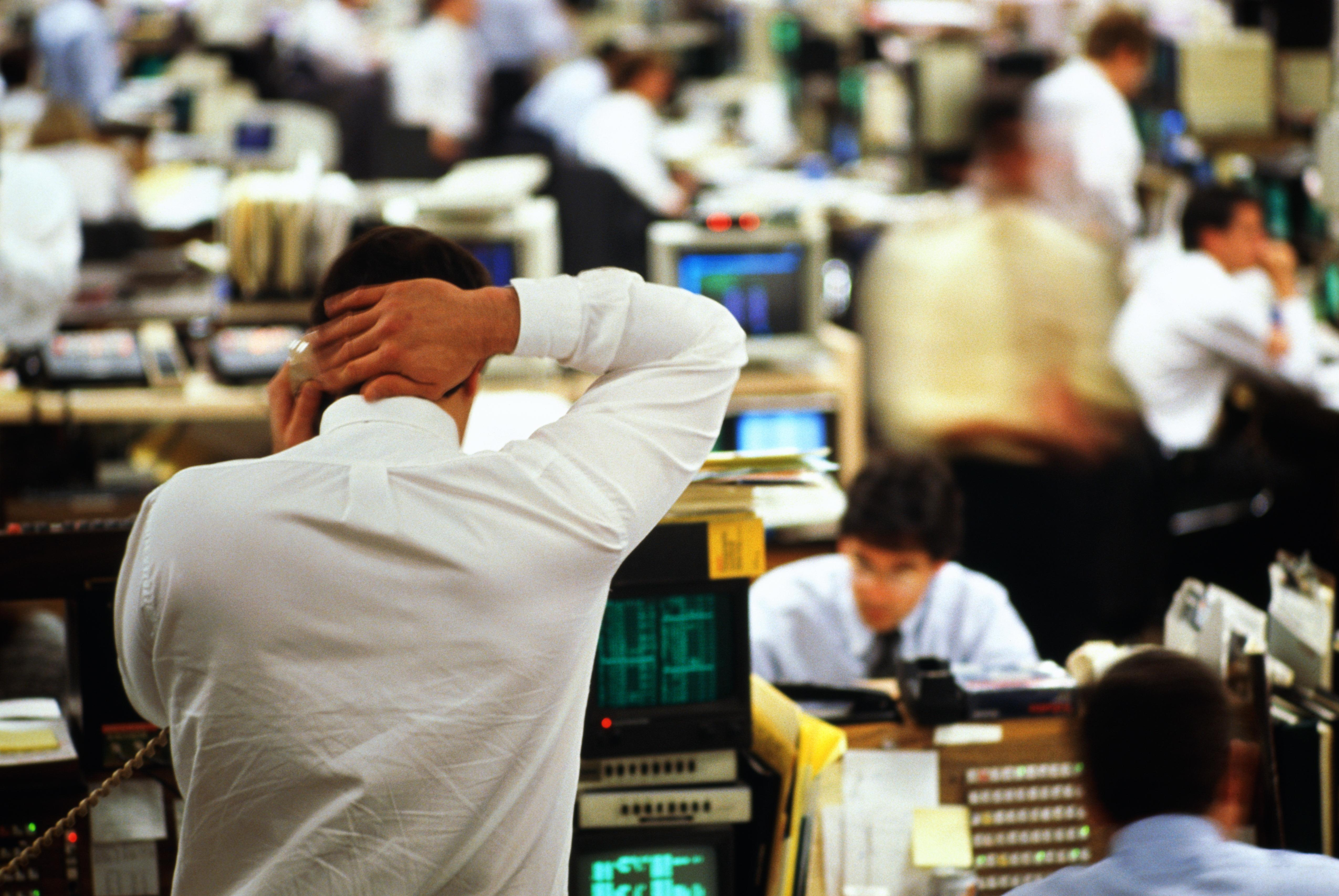 traders in financial futures