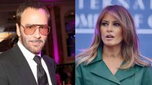 People are boycotting Tom Ford over a quote dissing Melania Trump — but it's fake news