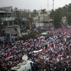 Iraq: Thousands protest to demand ouster of U.S. troops