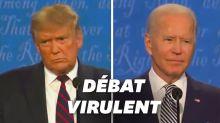 Le premier débat entre Trump et Biden a tourné au règlement de comptes