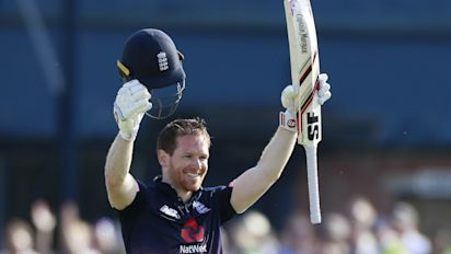 Eoin Morgan hits superb ton as England defeat number-1 ranked South Africa in opening ODI