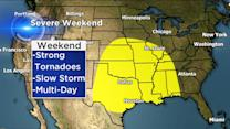 Tornado outbreak possible for central U.S.