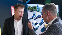 Elon Musk met with Volkswagen's CEO while in Germany and test-drove its competing electric model