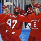 Ice hockey: Russians up and running with big win over Slovenia