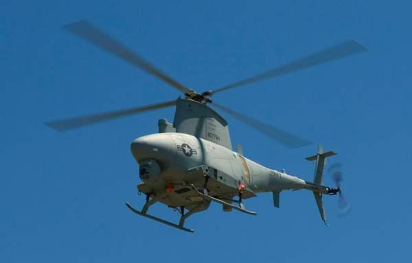 MQ-8 Fire Scout UAV resists its human oppressors, joyrides over Washington DC