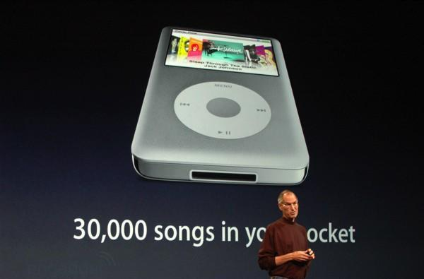 iPod classic refreshed, only comes in 120GB flavor now