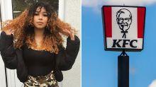 Vegan mother 'humiliated' after KFC staffer's cruel act