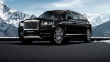 終極 SUV-Klassen 打造 Rolls-Royce「防彈」版本 Cullinan limo