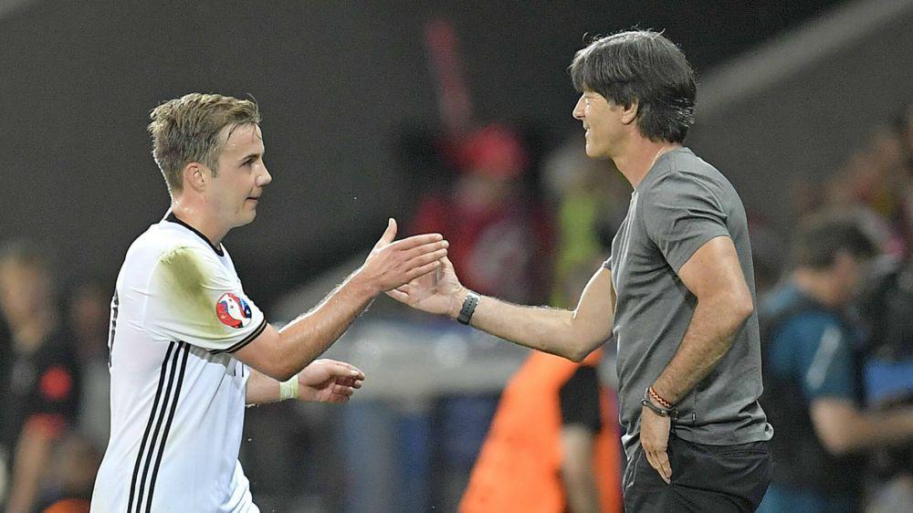 Mario Götze darf auf schnelles Nationalmannschafts-Comeback hoffen
